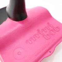 minibob logo rosa pink