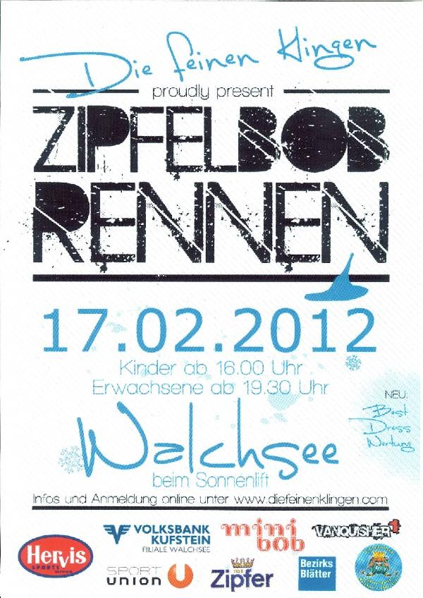 Zipflbob Walchsee 2012