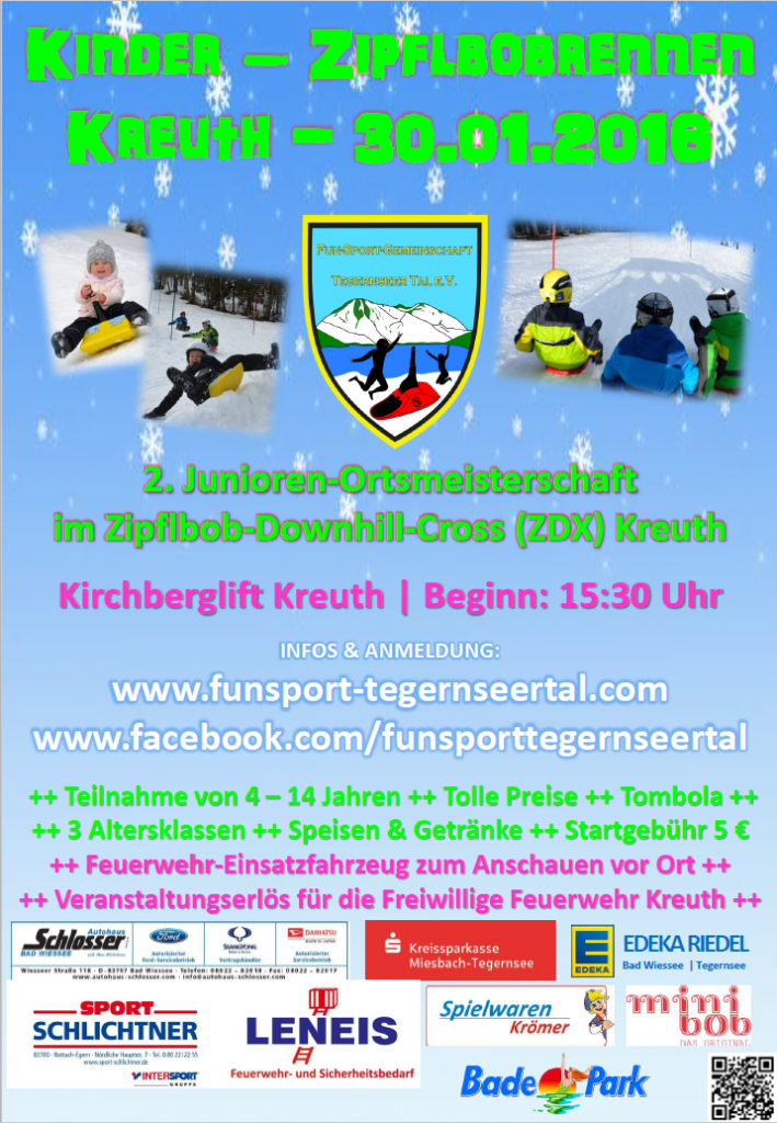 Zipflbobrennen Tegernsee