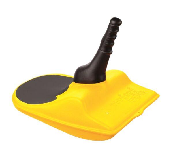 L'original de la luge mini bob en jaune - Luge Zipflbob jaune