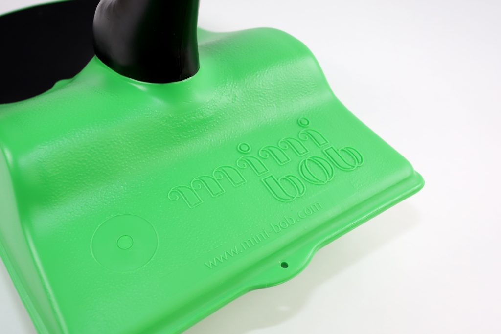 Zipfelbob grün Detail