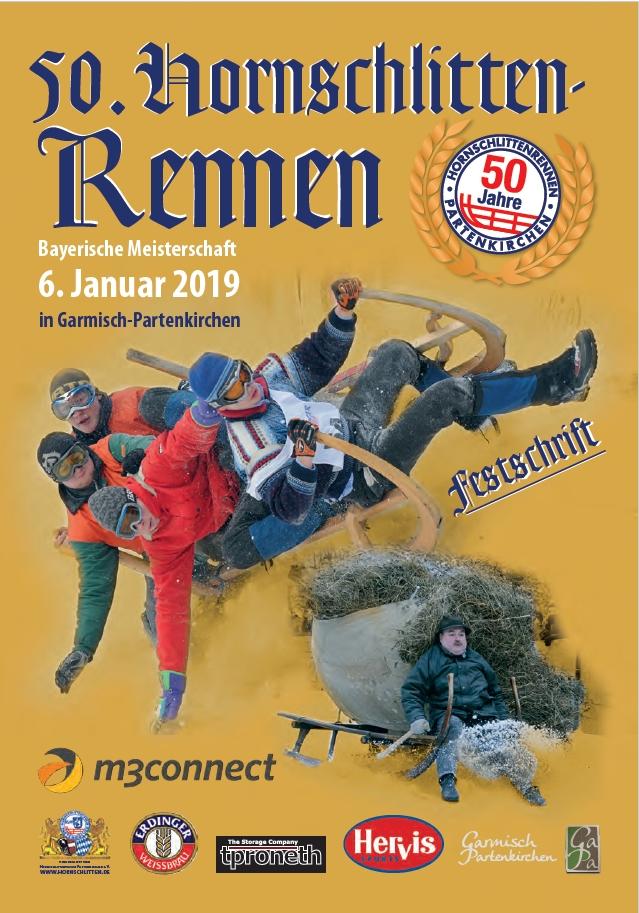 Hornschlittenrennen 2019 Garmisch