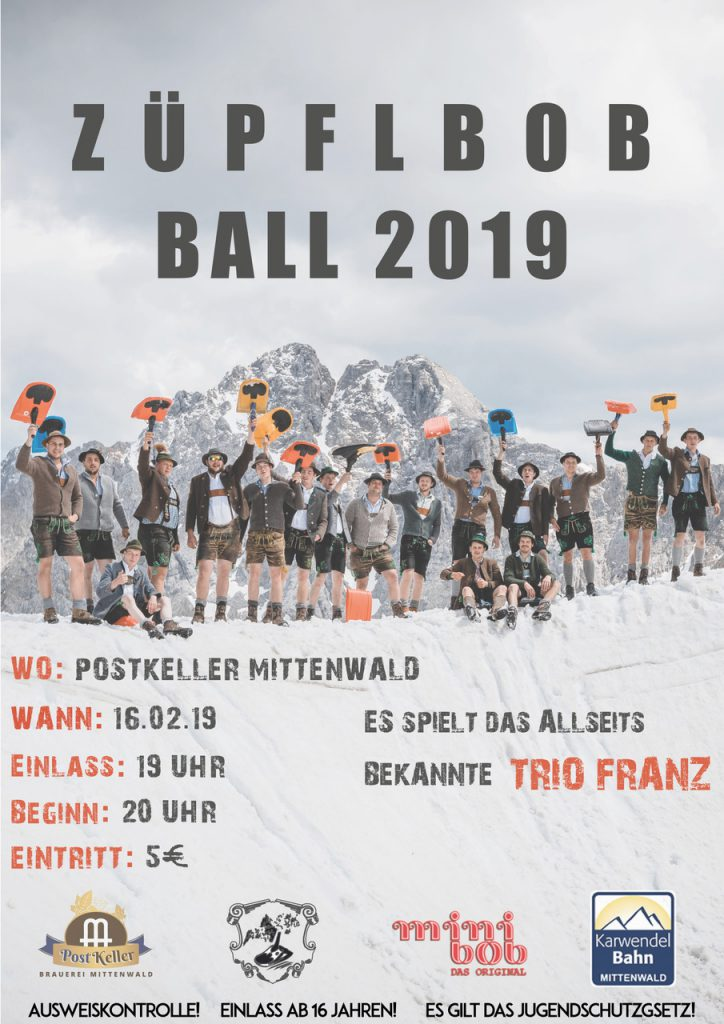 Züpflbob Fosnochtsball 2019