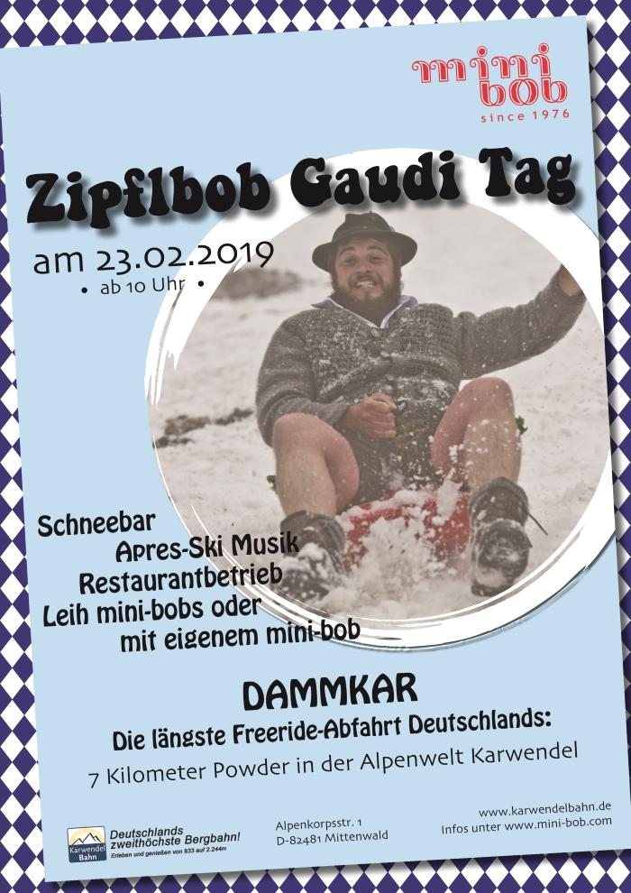 Dammkar Zipflbob Gaudi Tag 2019