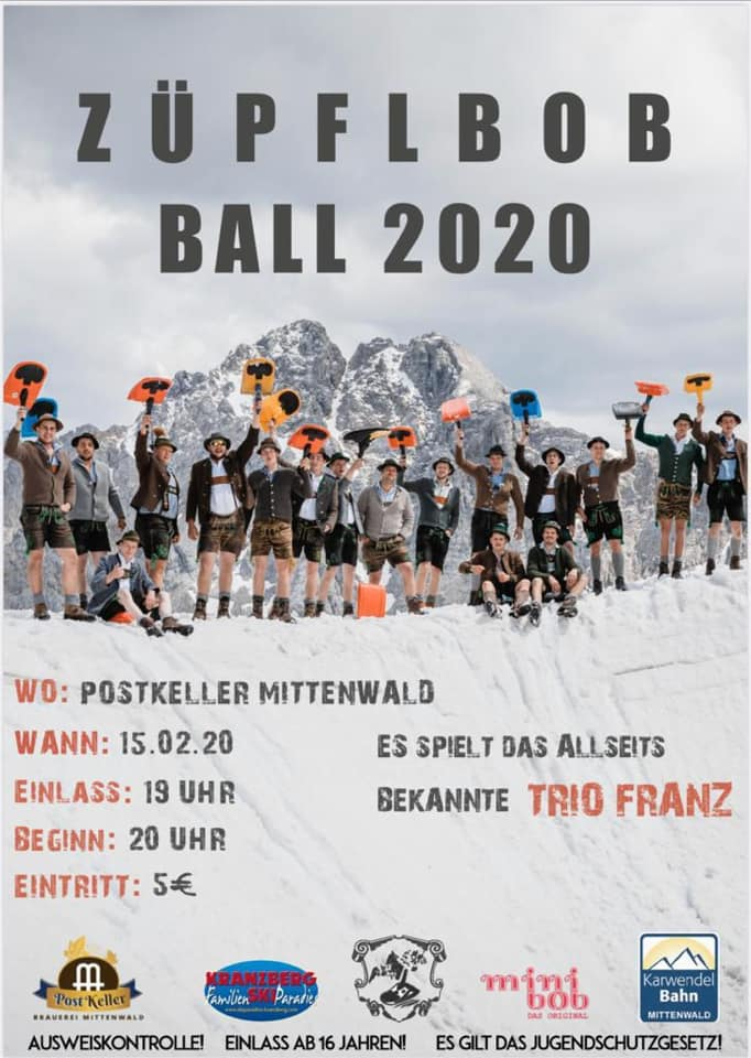 Züpflbob Ball 2020